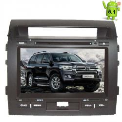 Штатная магнитола Toyota Land Cruiser 200 LeTrun 1647 Android 5.1